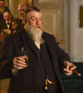 En skål i Idun av Anders Zorn (1892)